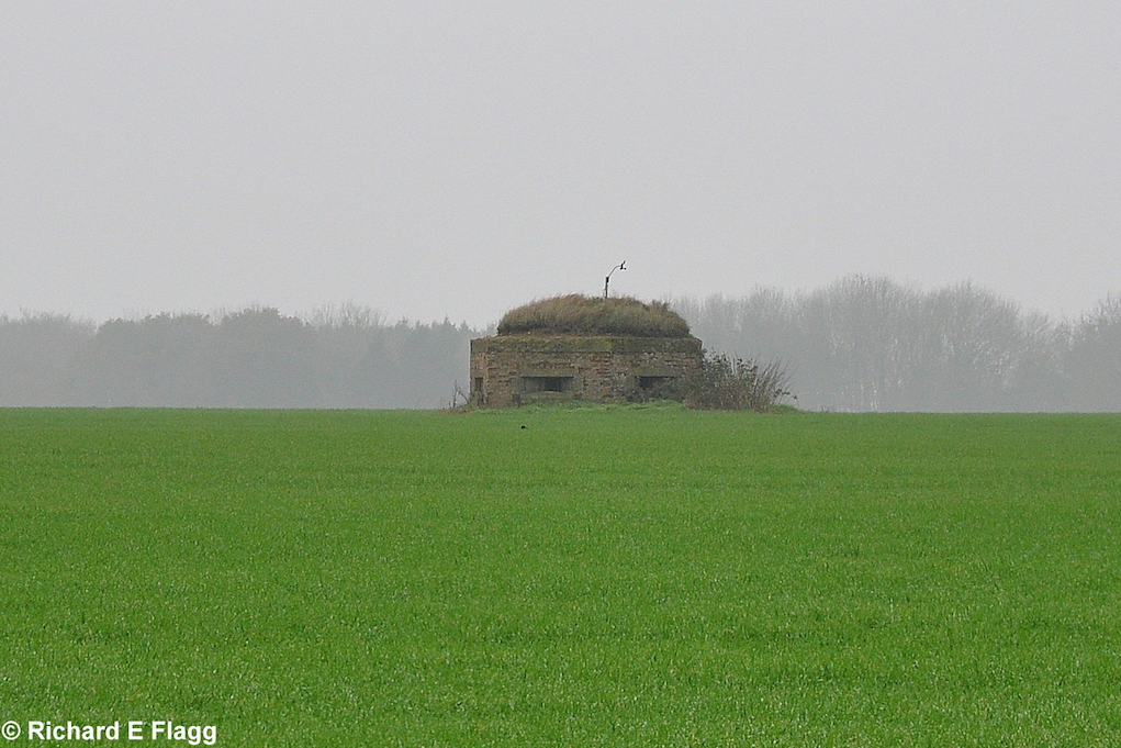 002Pillbox at the south of the airfield - 21 November 2011.png