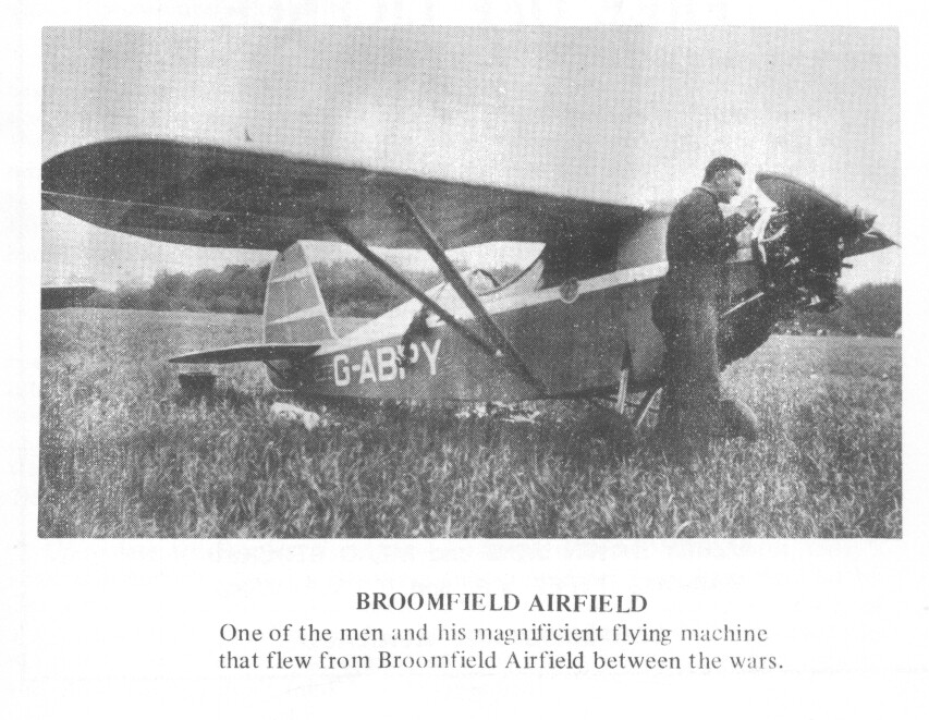 Broomfield airfield 1930s Malcolm Taylor.jpg